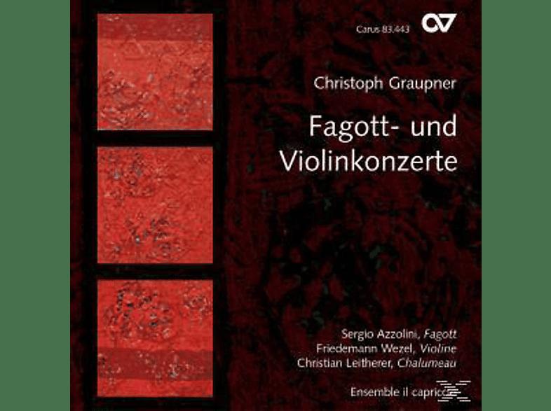 Leitherer, Azzolini, Wezel, Ensemble Il Cap, Azzolini/Wezel/Leitherer/Ensemble Il Cap - Fagott-Und Violinkonzerte [CD]