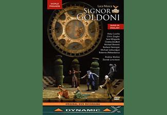 VARIOUS, Caiello/Ziegler/Mingardo/Zavalloni/Bennett/Molino/ - Signor Goldoni  - (DVD)