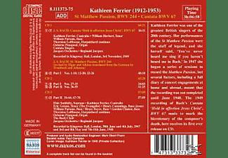 Jacques/Ferrier/Jacques Orchestra - Matthäus-Passion  - (CD)