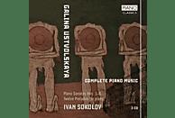Ivan Sokolov - Galina Ustvolskaya: Complete Piano Music [CD]