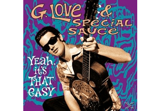G. LOVE SPECIAL SAUCE - Yeah, It's That Easy  - (CD)