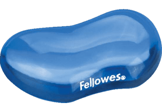 FELLOWES Crystal™ Gel Flex Rest Blue - (91177)