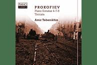 Amir Tebenikhin - Prokofiev, Piano Sonatas 4-7-8, Toccata [CD]