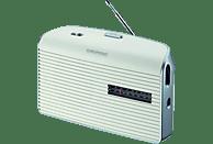 GRUNDIG Music 60 Radio, Analog, FM, AM, Weiß/Silber