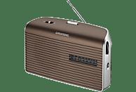 GRUNDIG Music 60 Radio, Analog, FM, AM, Braun/Silber