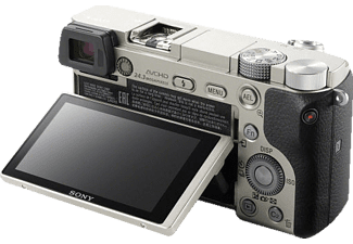SONY Alpha 6000+16-50mm silber (ILCE-6000L) Kompakt Systemkamera DSLR