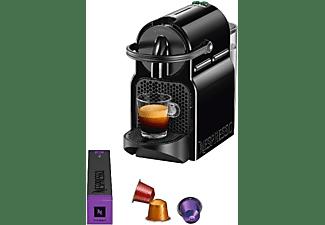 Cafetera de cápsulas - Nespresso® De Longhi INISSIA EN80B, Presión de 19 bares, Potencia 1260W, Negro