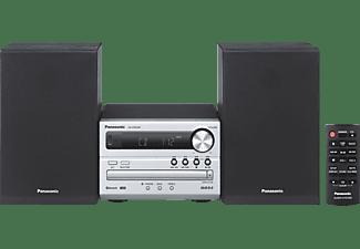 PANASONIC SC-PM 250 EG-S Kompaktanlage (Silber/Schwarz)