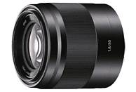 SONY SEL50F18 - 50 mm f/1.8 OSS, Circulare Blende (Objektiv für Sony E-Mount, Schwarz)