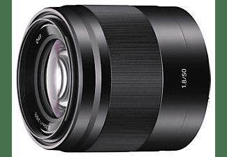 Objetivo EVIL - Sony E 50mm f/1.8 OSS, Negro