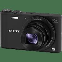 SONY Cyber-shot DSC-WX350 NFC Digitalkamera Schwarz, 18.2 Megapixel, 20x opt. Zoom, TFT-LCD, Xtra Fine, WLAN