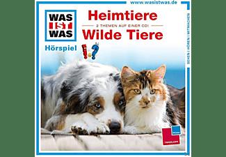 - WAS IST WAS: Heimtiere / Wilde Tiere  - (CD)