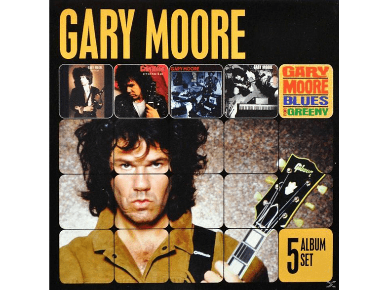 Gary Moore - 5 Album Set [CD]