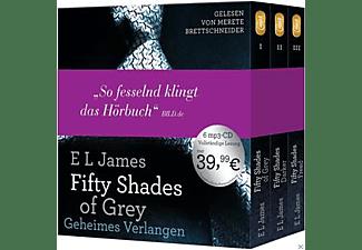 - Fifty Shades of Grey  - Die Gesamtausgabe (Teil 1-3)  - (MP3-CD)