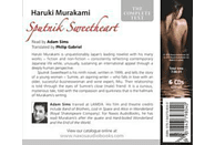 Adam Sims - Sputnik Sweetheart - (CD)