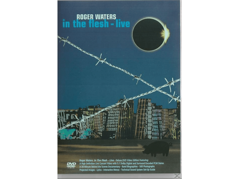 Andy Wallace<multisep/>Roger Waters<multisep/>P.P. Arnold<multisep/>Susannah Melvoin<multisep/>Andy Fairweather Low<multisep/>Norbert Stachel<multisep/>Katie Kissoon<multisep/>Jon Carin<multisep/>Doyle Bramhall II<multisep/>Snowy White<multisep/>Graham Broad - Roger Waters - In The Flesh - Live [DVD]