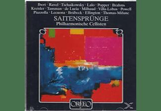 Philharmonische Cellisten - Saitensprünge.Mit 24 Saiten um die Welt  - (CD)
