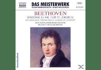 VARIOUS, Helmut/kölner Kammerorchester Müller-brühl - Sinfonie 3/Ouvertüren  - (CD)