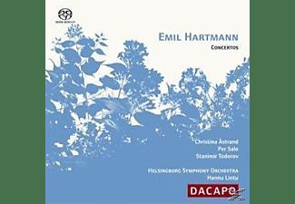 Astrand, Salo, Lintu, Todorov, Emil Hartmann, Astrand/Todorov/Salo/Lintu - VIOLIN CONCERTO  - (SACD Hybrid)