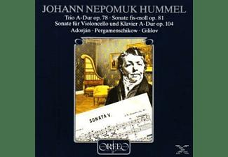 VARIOUS - Trio op.78/Celloson.A-Dur/Klaviersonate fis-moll  - (CD)