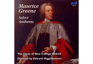 Edward/choir Of New College Oxford Higginbottom - Select Anthems  - (CD)