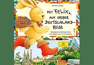 Mit Felix auf grosser Deutschlandreise  - (CD)