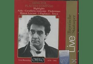 Plácido Domingo - Domingo Highlights:Fledermaus/Tosca/Aida/Manon  - (CD)