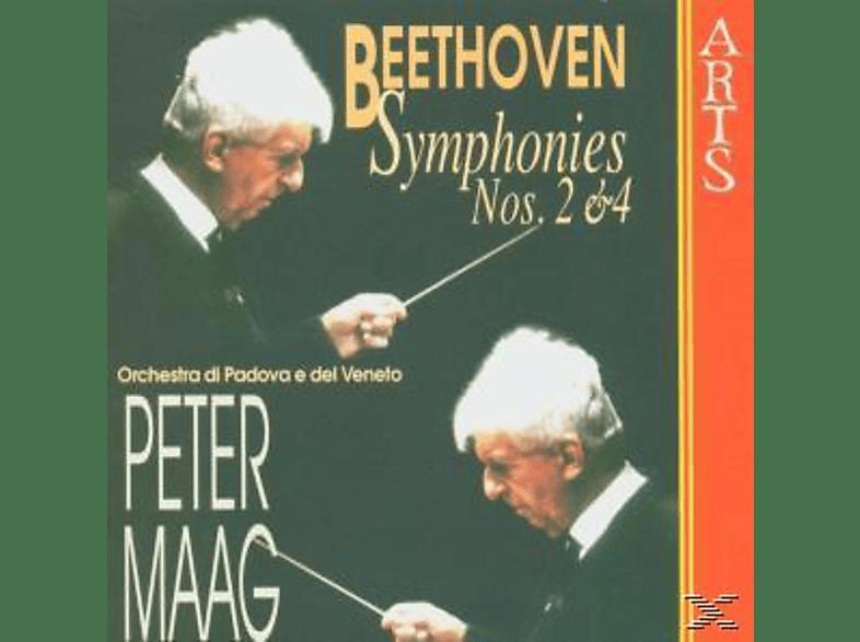 Ma - Sinfonien 2 & 4 [CD]