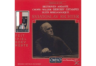 Richter Svjatoslav - Salzburger Festspiele  - (CD)