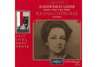 Ileana Cotrubas, Erik Werba - Geheimes/On this island op.11/Aubade/Alte Liebe  - (CD)