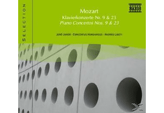 VARIOUS, Jando/Ligeti/Concentus Hungari - Klavierkonzerte 9+23  - (CD)