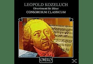 Consortium Classicum - Divertimenti für Bläser:Cassation Es-Dur/+  - (CD)