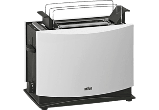 BRAUN HT 450 Toaster Weiß (1000 Watt, Schlitze: 2)