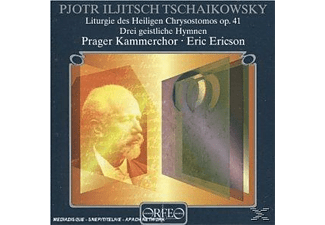 Eric & Prager Kammerchor Ericson - Liturgie d.Hl.Chrysostomos/Drei geistliche Hymnen  - (CD)