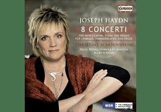 Christin Schornsheim, Neue Duesseldorfer Hofmusik - Konzerte Für Cembalo, Hammerklavier Und Orgel  - (CD)