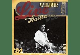 Waylon Jennings - Live From Austin, Tx  - (CD)