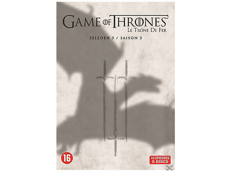 Game Of Thrones - Seizoen 3 - DVD