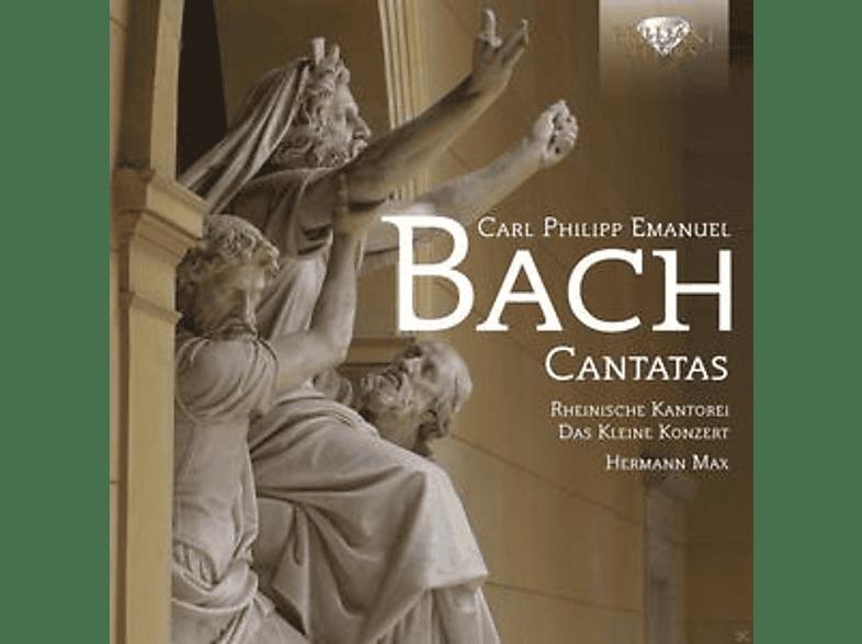 Das Kleine Konzert, Rheinische Kantorei - Carl Philipp Emanuel Bach: Cantatas [CD]