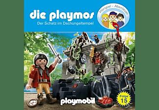 Die Playmos 15: Der Schatz im Dschungeltempel  - (CD)