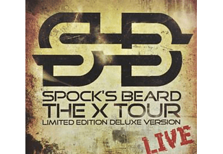 Spock's Beard - The X Tour-Live (Limited Edition) - (CD + DVD Video)