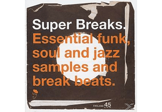 VARIOUS - SUPER BREAKS  - (Vinyl)