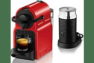 TURMIX Nespresso Kaffeemaschine Inissia & Milk TX 155 Ruby Red