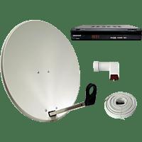 ALLVISION HD 7000 SAT-SET Sat-Anlage (60 cm, Digitales Single-LNB)