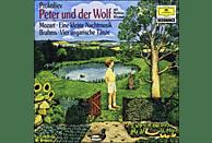 Carl August Nielsen, Wiemann/Maazel/ONF/Karajan/BP - Peter Und Der Wolf/Ungarische Tänze 1, 3, 5, 6/+ [CD]