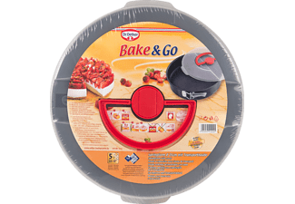 DR. OETKER 1010 Bake&Go Springform mit Transporthaube