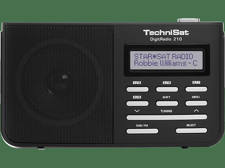 Technisat Digitradio 210 Digitalradio Dab Dab Schwarz Silber Mediamarkt