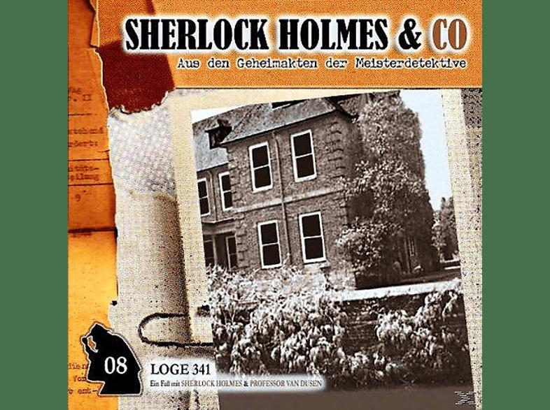 Sherlock Holmes & Co - Sherlock Holmes und Co 08: Loge 341 - (CD)
