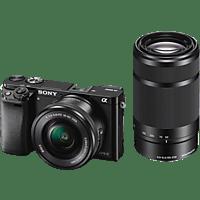 SONY Systemkamera Alpha 6000 mit Objektiv 16-50mm und 55-210mm (ILCE-6000Y)