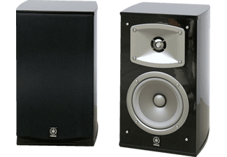 Altavoces estéreo - Yamaha NS-333 Negros, 60W, cableado interno Monster Cable