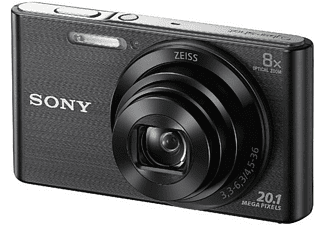 Cámara - Sony Cyber-shot DSC-W830B Negro, 20.1 Mp, Zoom 8x, HD, Negro